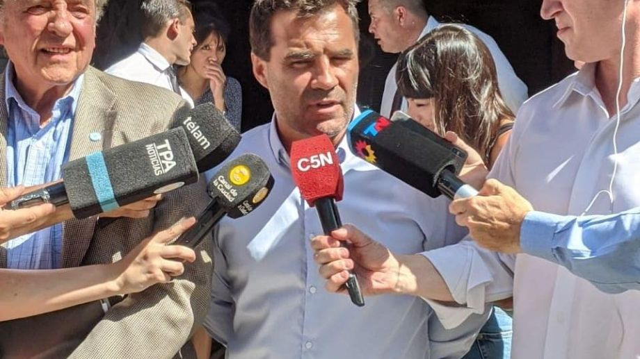 El diputado nacional Darío Martínez es uno de los voceros del proyecto oficial. Foto: gentileza.