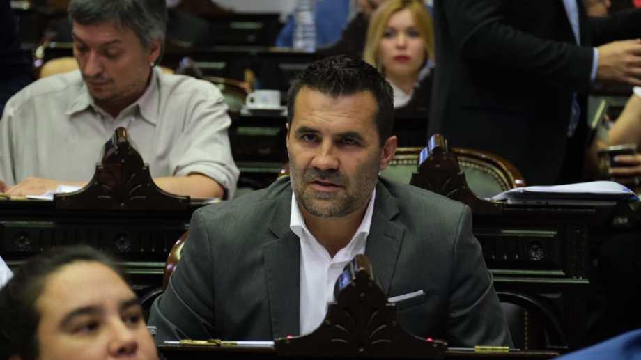 Darío Martínez fue reelecto el año pasado en la banca del Congreso.