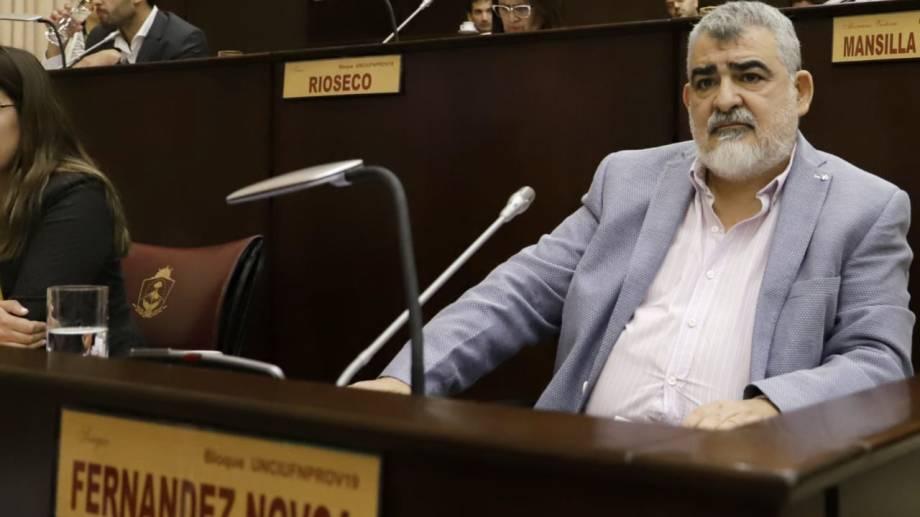El diputado provincial Fernández Novoa.  Foto: Twitter@serfnovoa