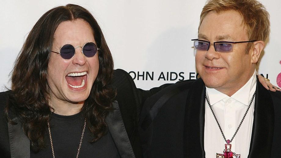 Ozzy y Elton, viejos ruteros del rock, se unieron en una bella colaboración.