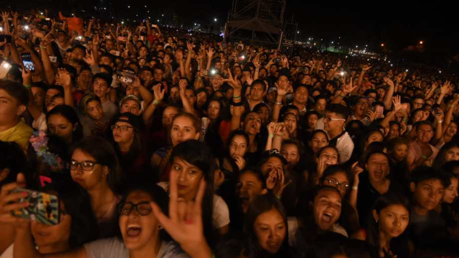 Fiesta Nacional de la Manzana. Foto archivo Gonzalo Maldonado.