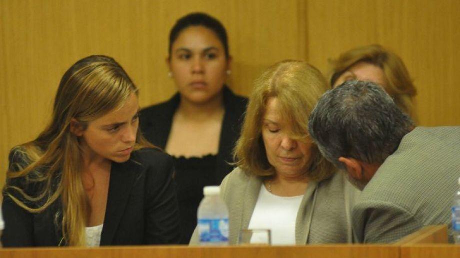 La intendenta Soria es una de las garantes de la prisión domiciliaria.