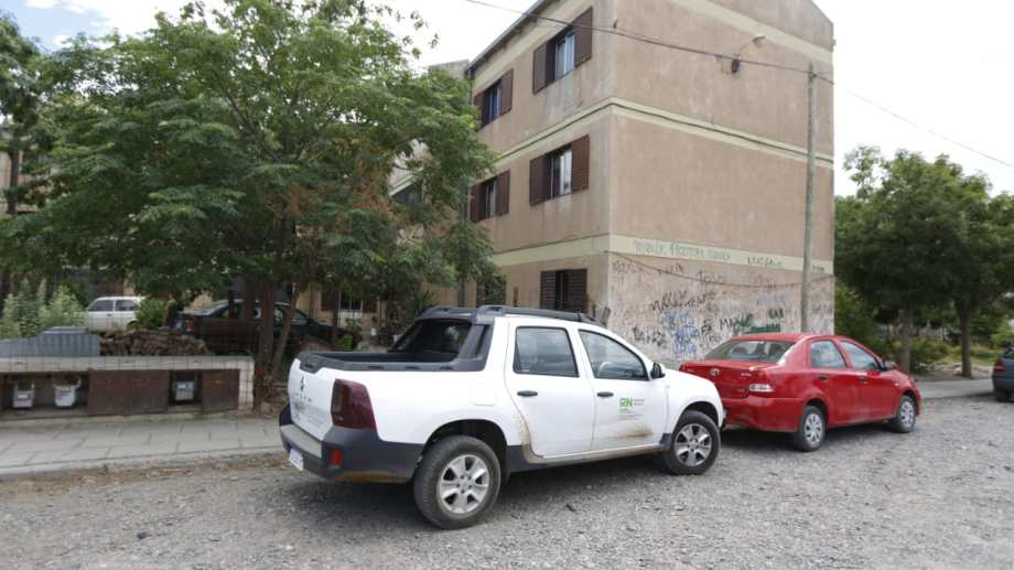 El gobierno provincial y municipal evalúa como solucionar la invasión de murciélagos en el barrio Bogotá de Cipolletti. Foto: Juan Thomes