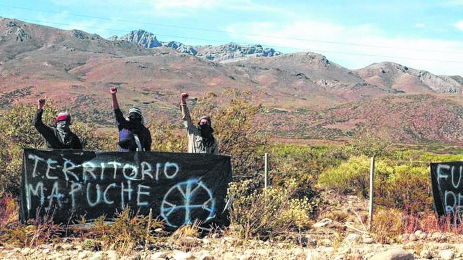 En Chubut y Río Negro ha crecido en los últimos años la ocupación de tierras por parte de comunidades mapuches. Foto: archivo