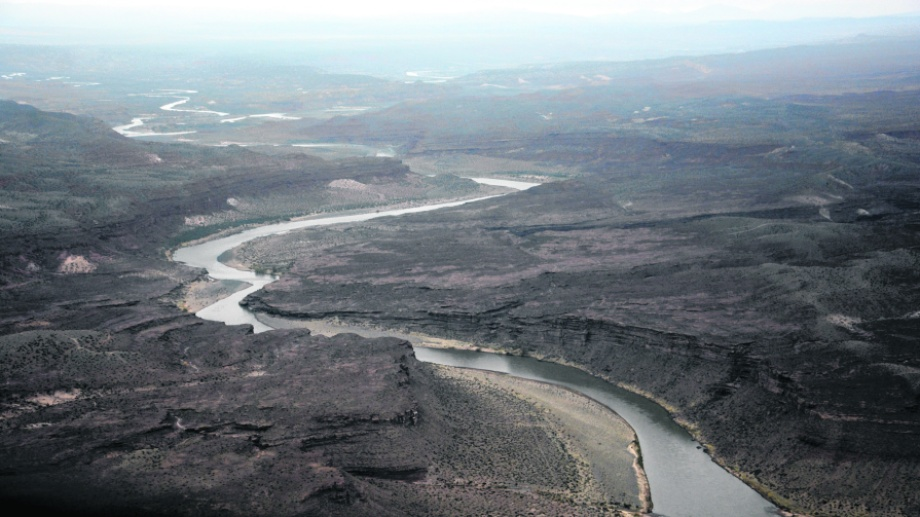 En este sector se construiría la represa Chuhuido. (Archivo Andrés Maripe).-