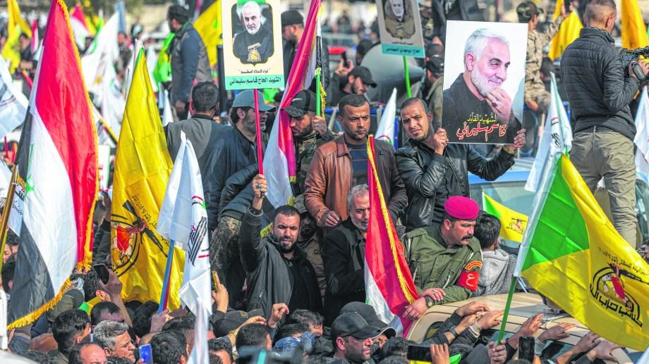 El general Soleimani era el cerebro de las operaciones de Irán en el exterior, muy popular y con gran influencia en Hezbollah. Foto: AP
