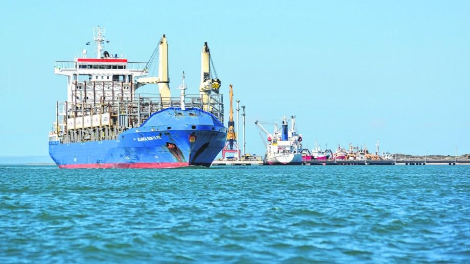 La estación marítima rionegrina no tiene el movimiento intenso de otras épocas.