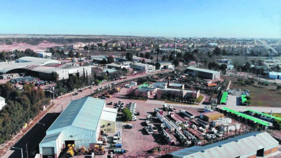 La mayoría de las compañías que se radican son pymes.  Neuquén tiene 11 parques municipales y seis provinciales. Foto: gentileza.-