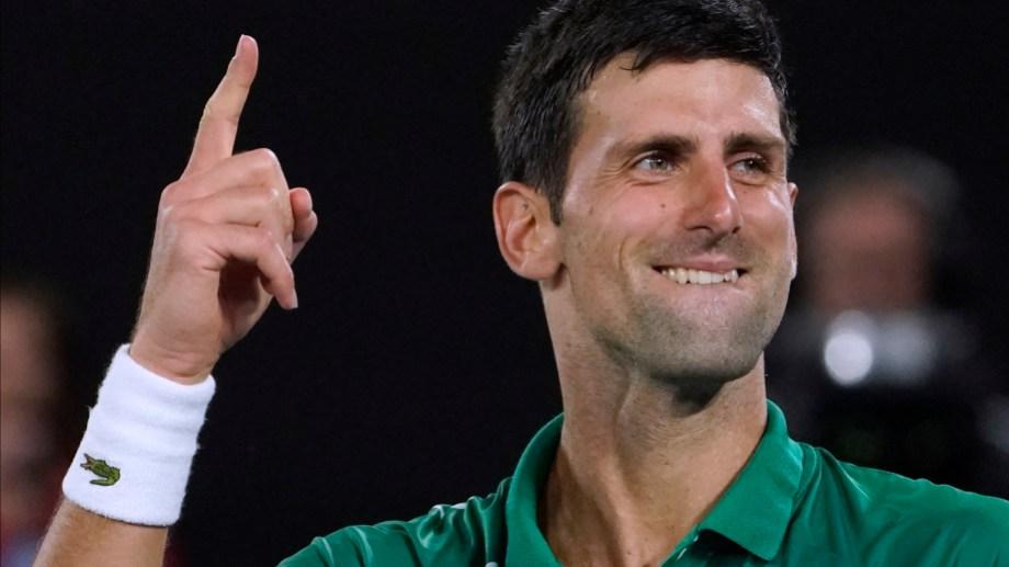 Novak Djokovic pasó a la final del Abierto de Australia, el primer grand slam del año. Foto AP.