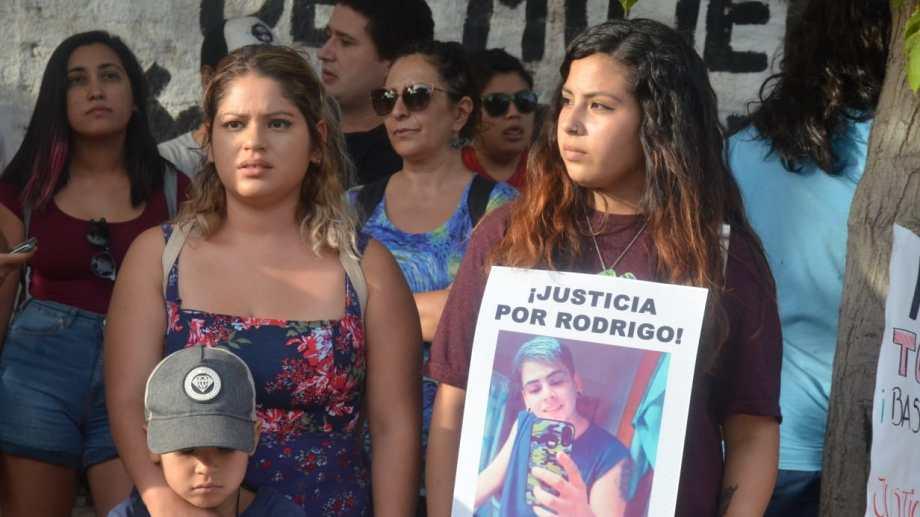 Pidieron justicia por Rodrigo. Foto: Yamil Regules