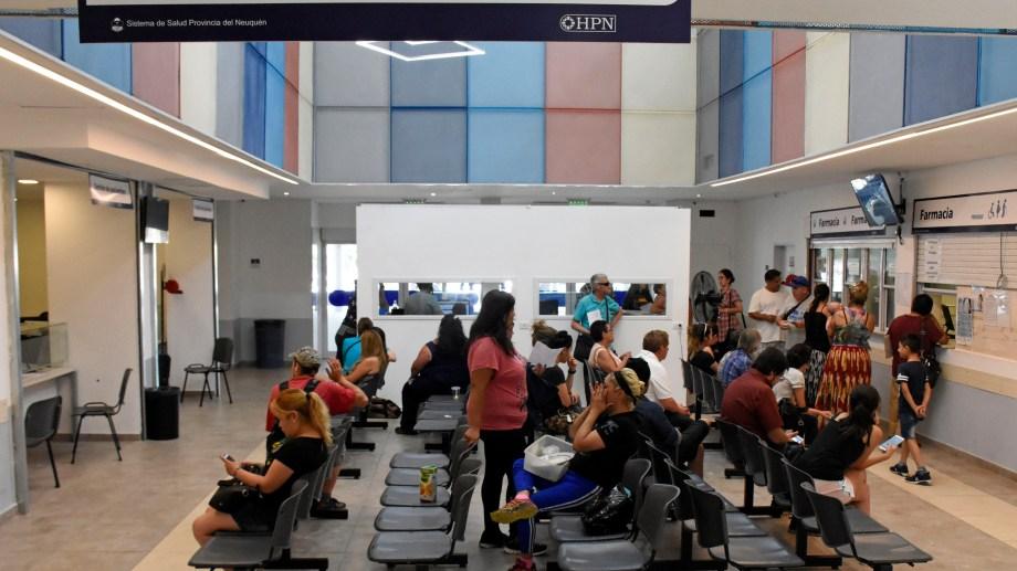 El hospital Castro Rendon es el de mayor complejidad del sistema público de salud. Foto Florencia Salto.