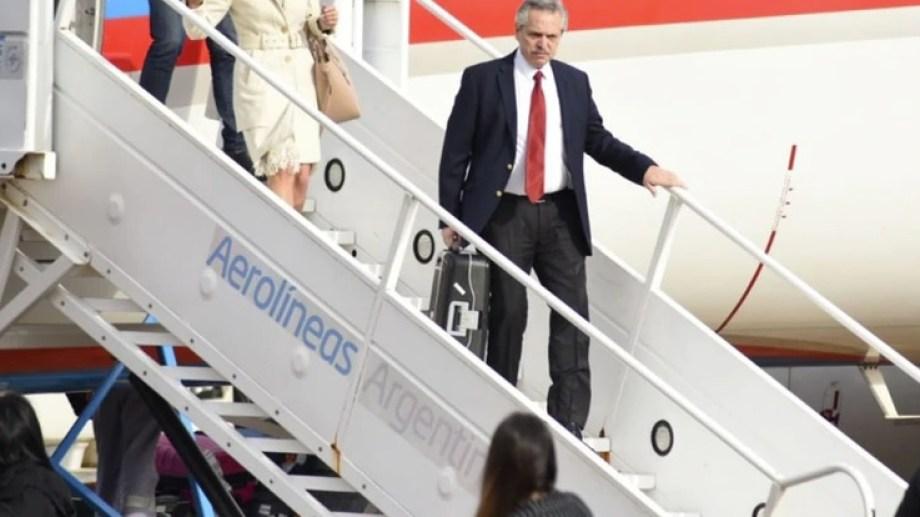 Este será el primer viaje oficial del mandatario argentino al exterior. Va con una importante comitiva. Foto: archivo.-