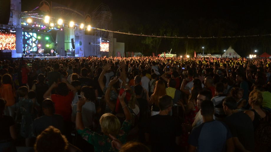 El año pasado más de 50 mil personas asistieron a la Fiesta de la Pera. (Foto archivo: Mario Villasuso)