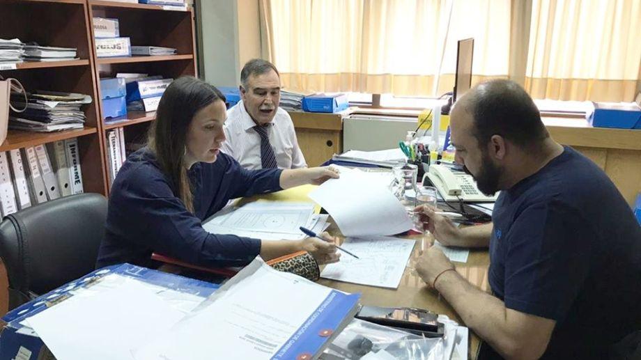Javier Bertoldi asumió su nuevo mandato el pasado 10 de diciembre después ser legislador provincial. Foto Prensa Municipalidad de Centenario