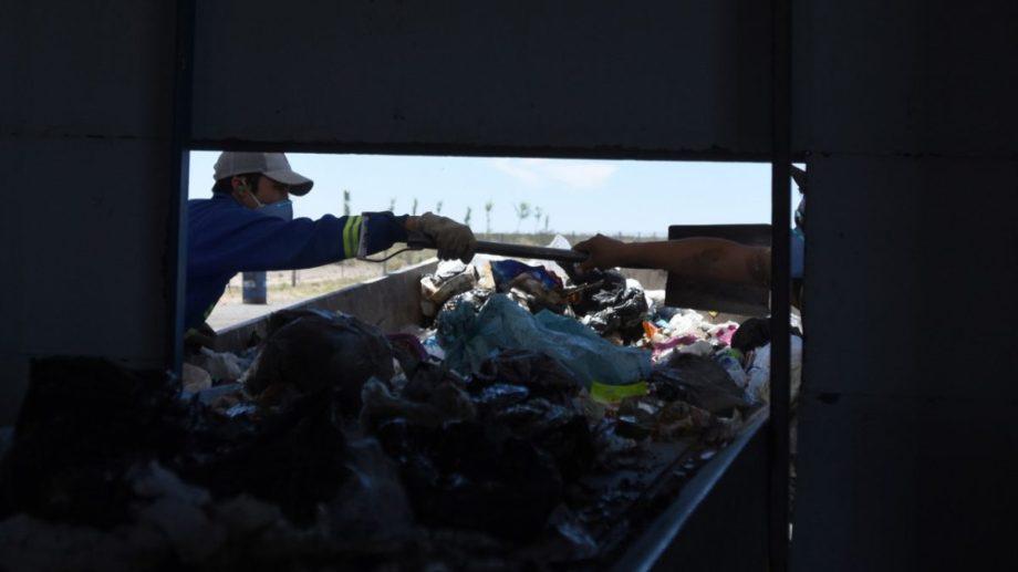 Los restos humanos fueron encontrados en la planta recicladora.