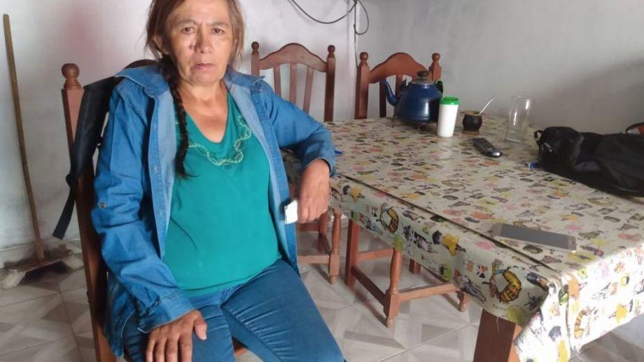 Hilda Acuña. aseguró que era víctima de violencia familiar. Foto: Sergio Arregui.-