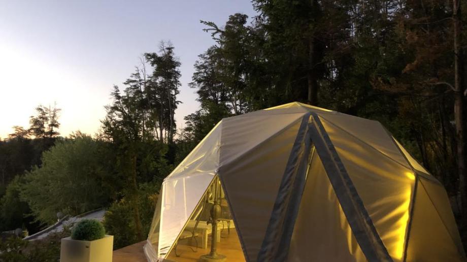 En la cordillera ya hay modalidad glamping en Villa la Angostura y ahora se habilitó en Bariloche.