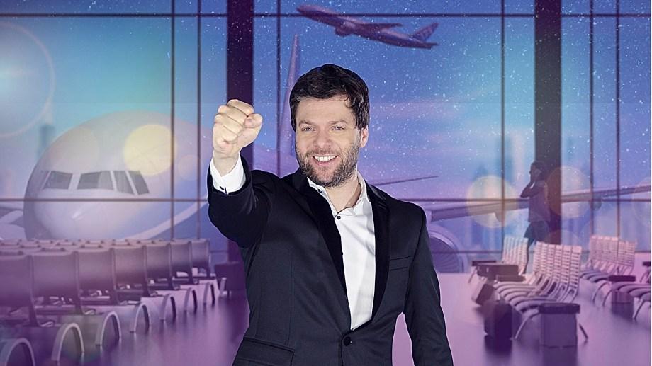 Guido Kaczka disfruta y se divierte con los programas en vivo