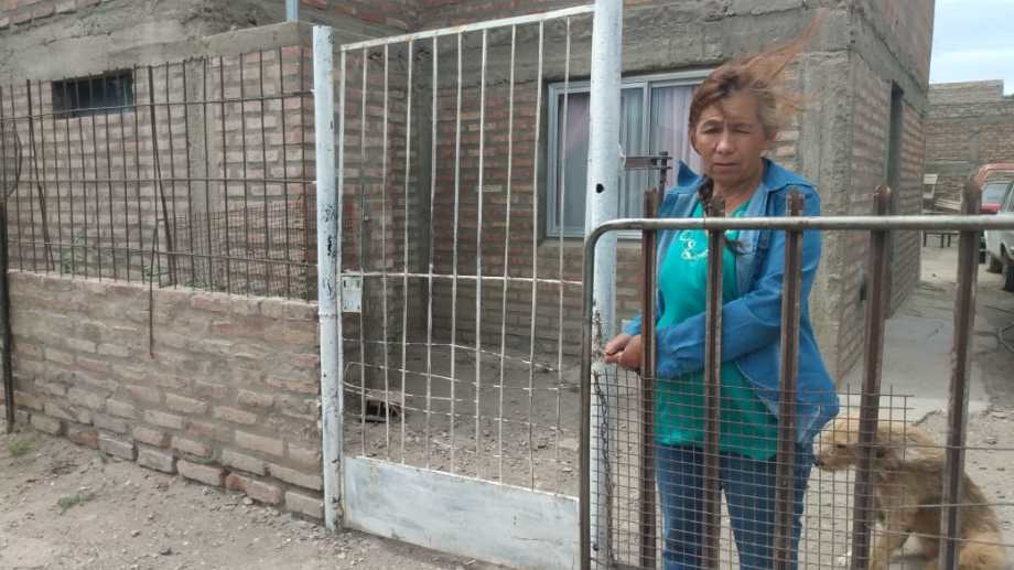 Hilda Acuña, madre de los jóvenes imputados en el asesinato del padre.