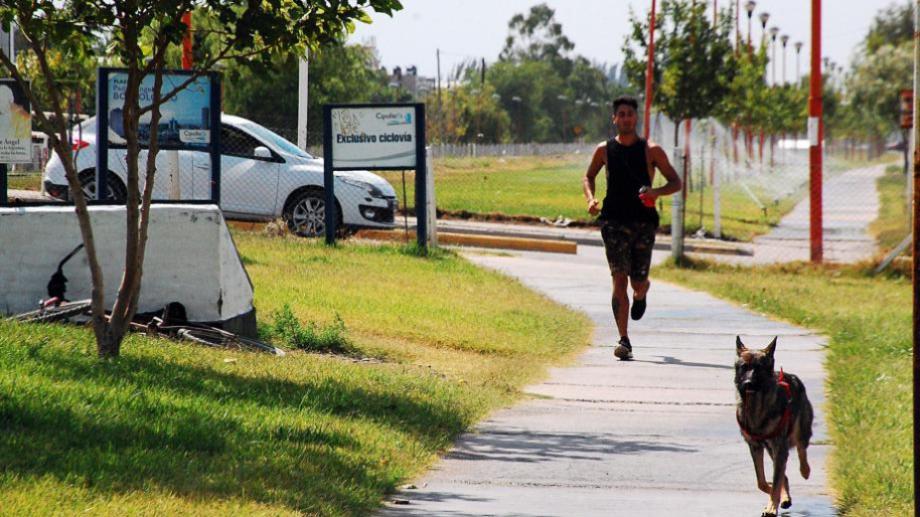 El Municipio cipoleño brindará asesoramiento deportivo en espacios públicos. (Foto archivo)
