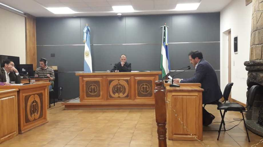 El juez de garantías Juan Pablo Laurence admitió la acusación que el fiscal Martín Govetto formuló contra la mujer. (Foto: Gentileza)