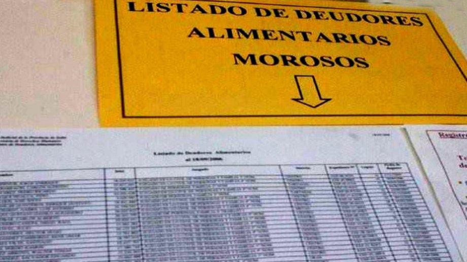 Río Negro cuenta con un registro de deudores alimentarios que es pública. Archivo