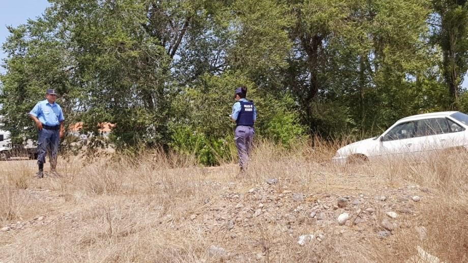 La policía hizo las pericias del caso. Foto Centenario Digital