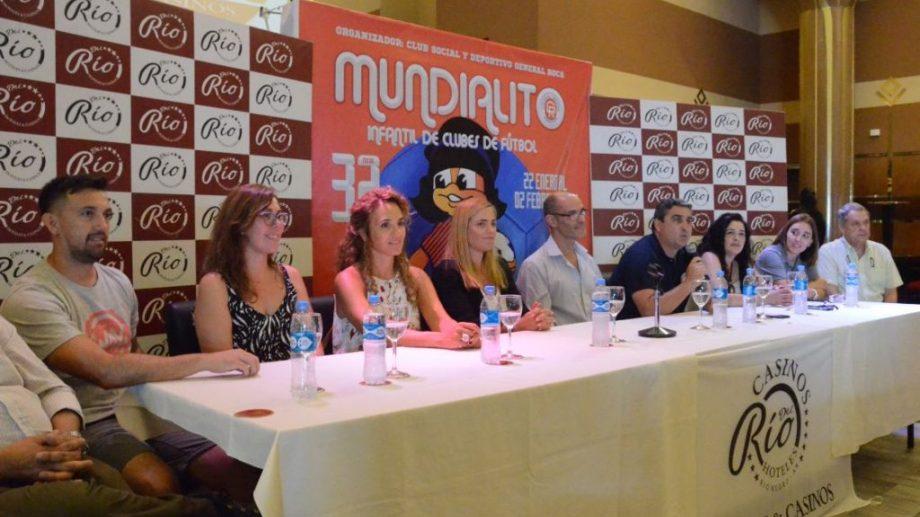 En Roca se llevó a cabo la conferencia de prensa.
