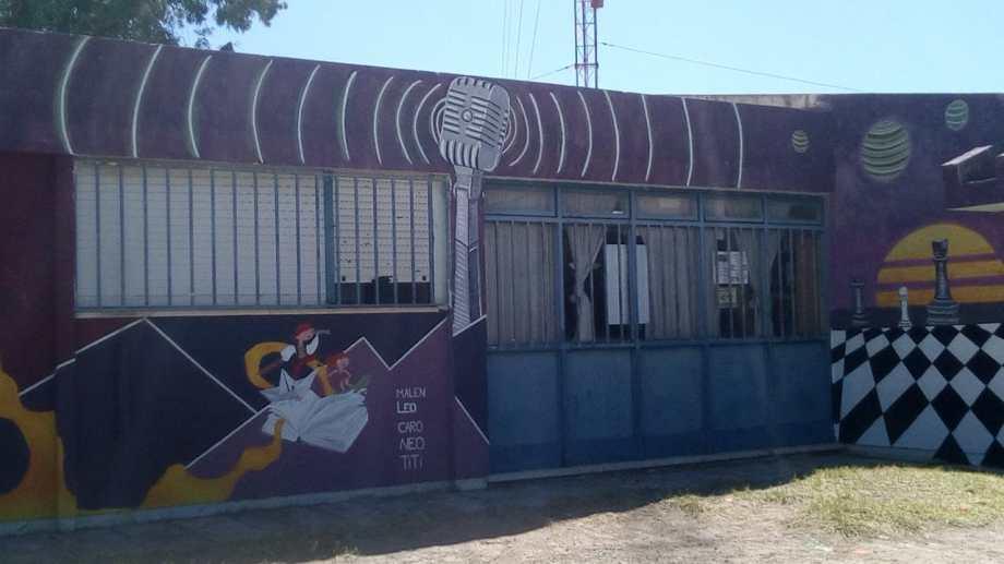 El espacio funciona en el barrio 300 Viviendas, ubicado en la zona norte de la ciudad.