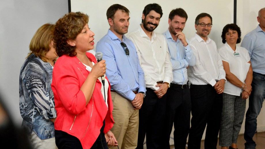 """La gobernadora Arabela Carreras admitió que son """"medidas antipáticas"""" pero justificó el aumento a sus funcionarios. Archivo"""
