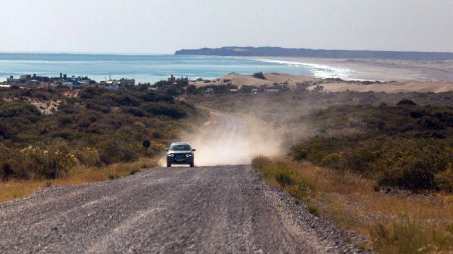 El hecho ocurrió en Bahía Creek, que se encuentra a 100 kilómetros de la capital rionegrina.  Foto: Marcelo Ochoa.