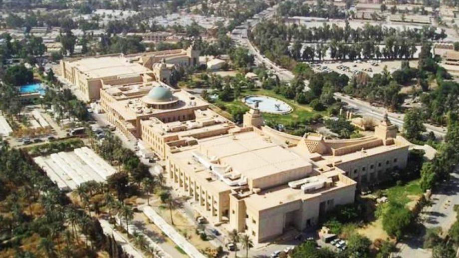 Zona de la Embajada norteamericana en Bagdad. Foto: archivo.-