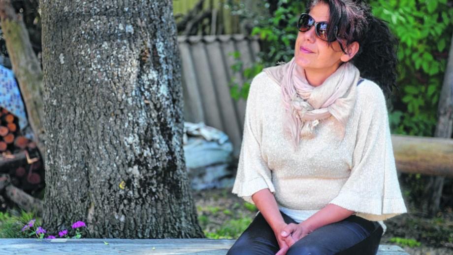 Pauline Totochian nació en El Líbano y migró a la Argentina en los 90, en busca de la libertad. Foto: Alfredo Leiva