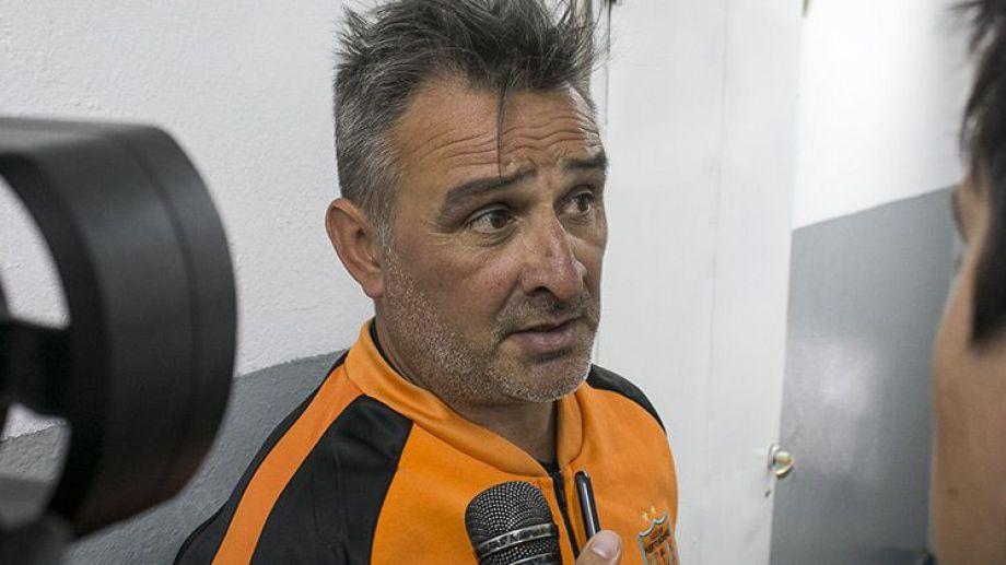 Colaizzo llevaba ocho meses como técnico del Naranja. (Foto: Gentileza El Cordillerano).