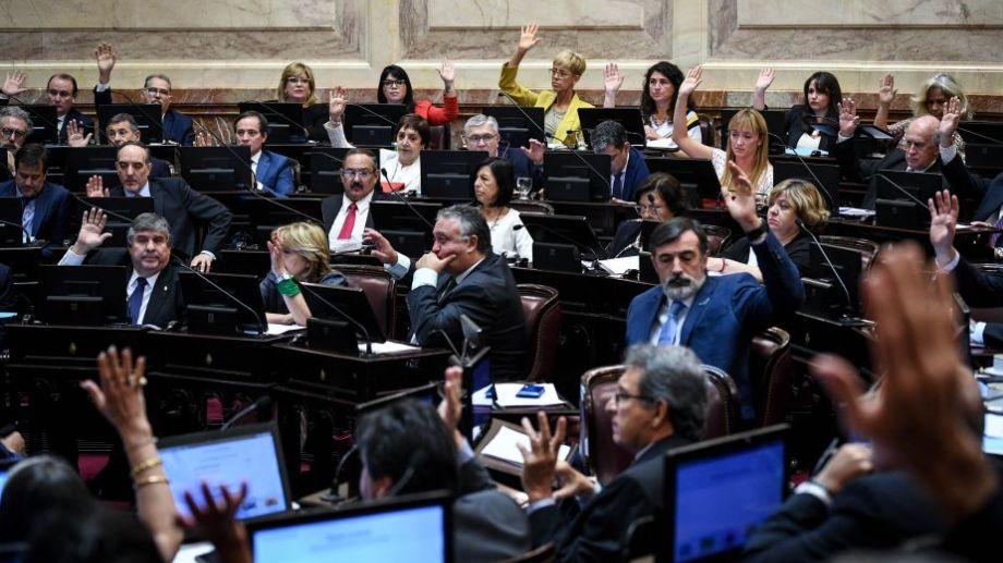 La última sesión en el Senado fue el pasado jueves. Foto: Charly Diaz Azcue / Comunicación Senado.