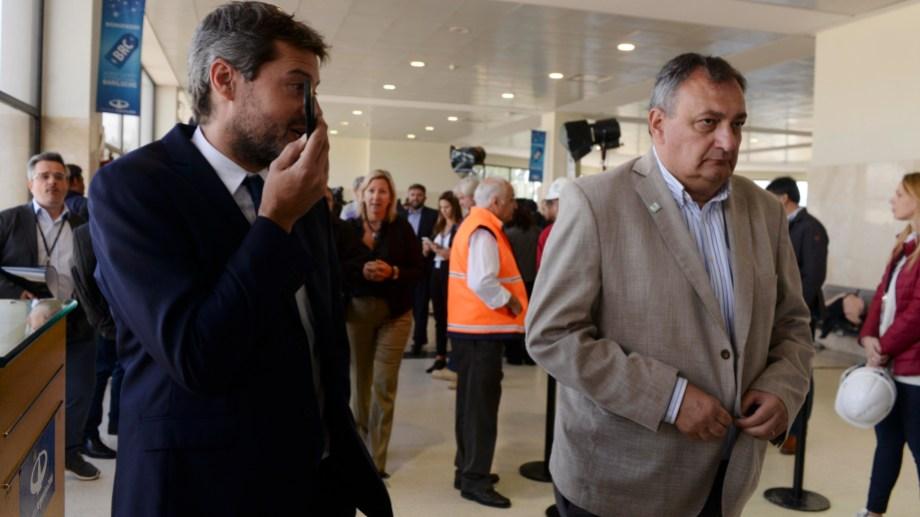 El ministro de Turismo, Matías Lammens, estuvo el verano pasado en Bariloche y ahora regresa en medio de una temporada optimista. Archivo