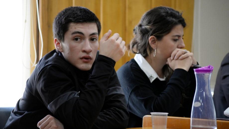 Martín Enrique Pardo tiene 20 años y ayer recibió una condena de 10 años de cárcel por intento de femicidio. Archivo