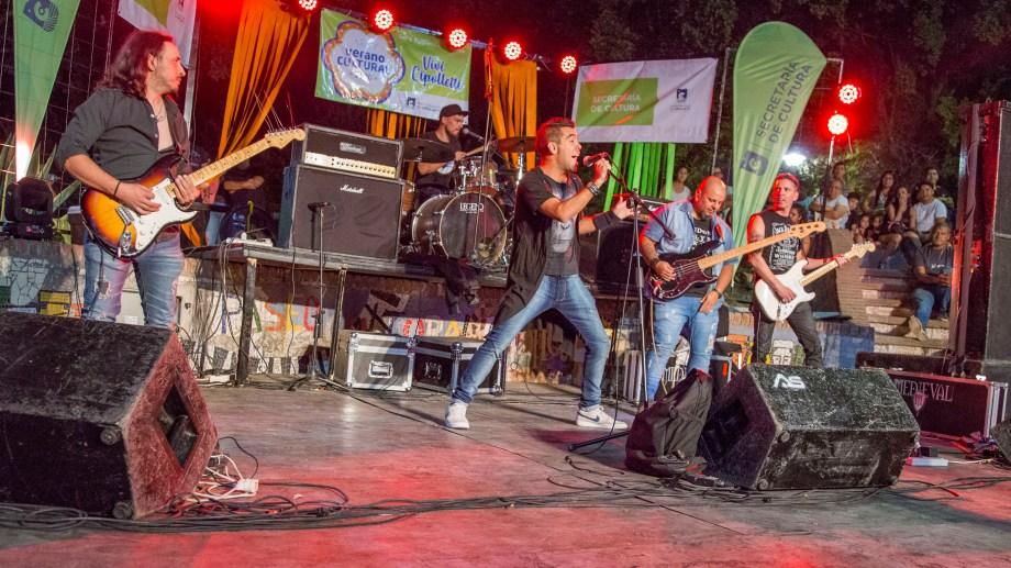 """""""Medieval"""", una banda que hace tributo a Rata Blanca, tocará en la Fiesta de la Actividad Física."""