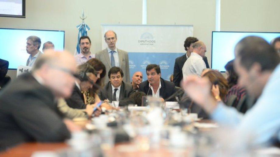 El debate en comisión se llevó a cabo esta tarde. Foto: Prensa Cámara de Diputados.