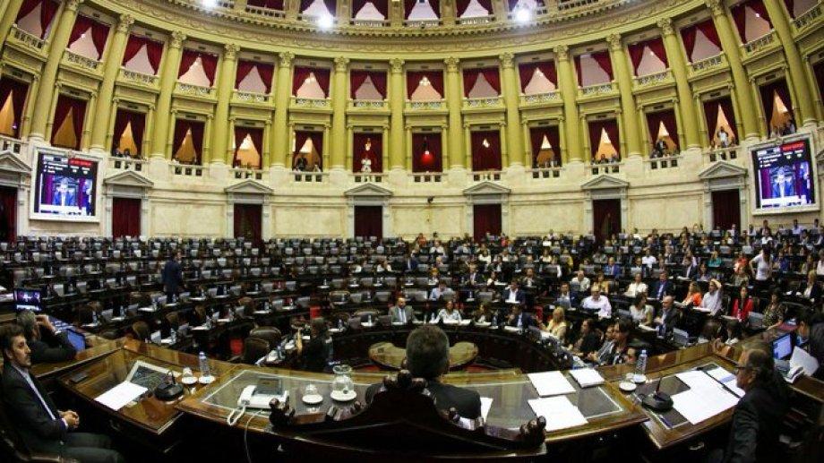 La Cámara de Diputados sesionó hoy, presidida por Sergio Massa. Foto: gentileza prensa Diputados.-