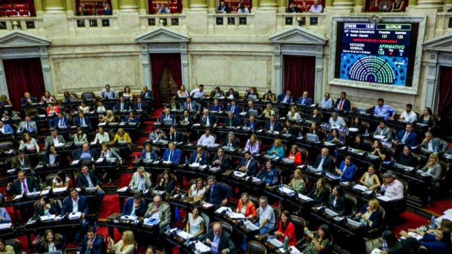 Diputados votó hoy la media sanción y hay diferencias sobre el cómo se llegó a ese resultado. Foto: prensa Diputados.