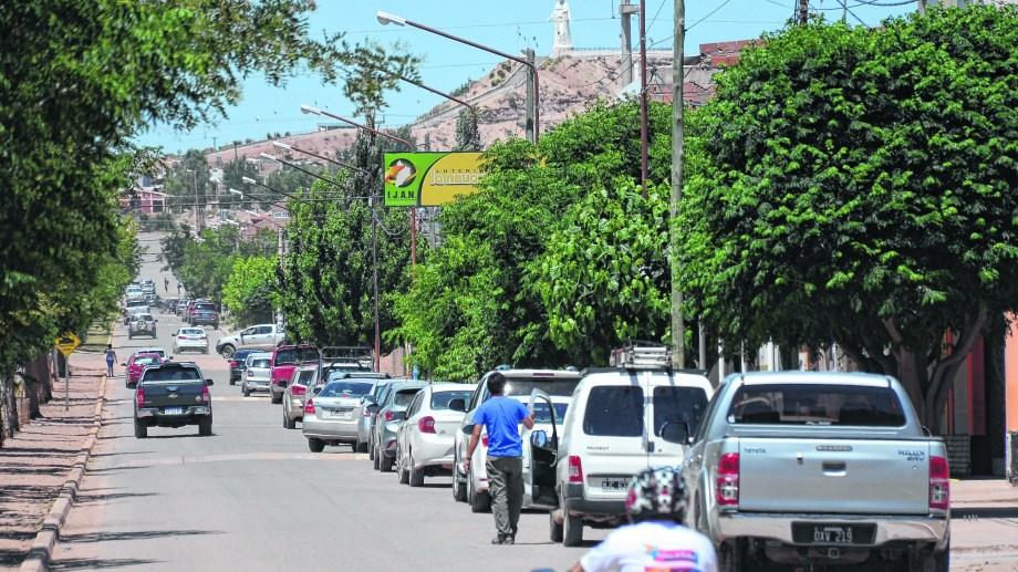 Rincón de los Sauces es la tercera ciudad con más contagios en la provincia. Foto: archivo.