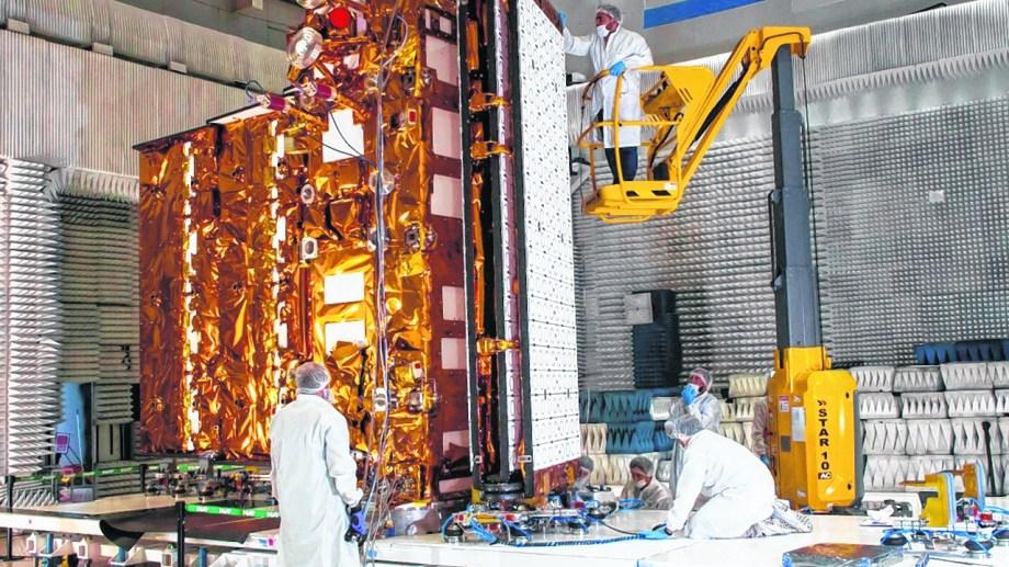 El satélite Saocom 1B es lanzado hoy al espacio. Archivo