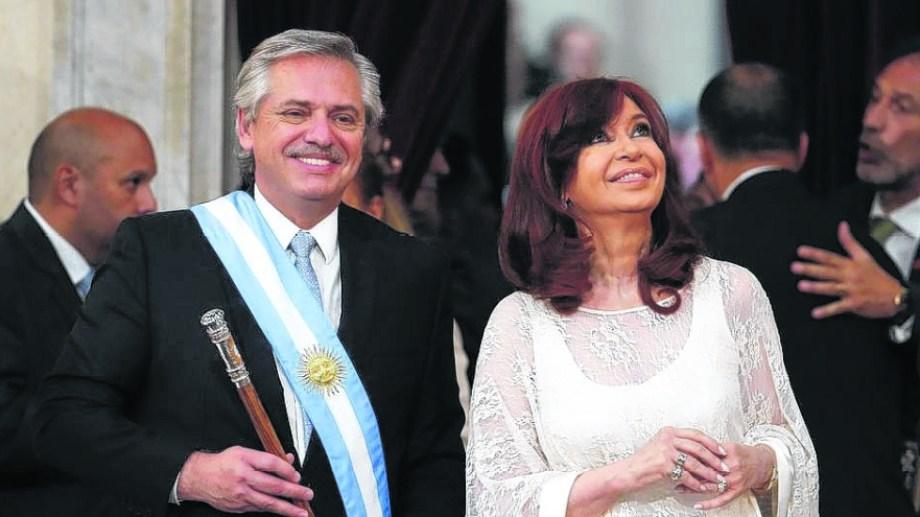 Alberto Fernández y Cristina Kirchner. Tensiones en torno a la Reforma Judicial.