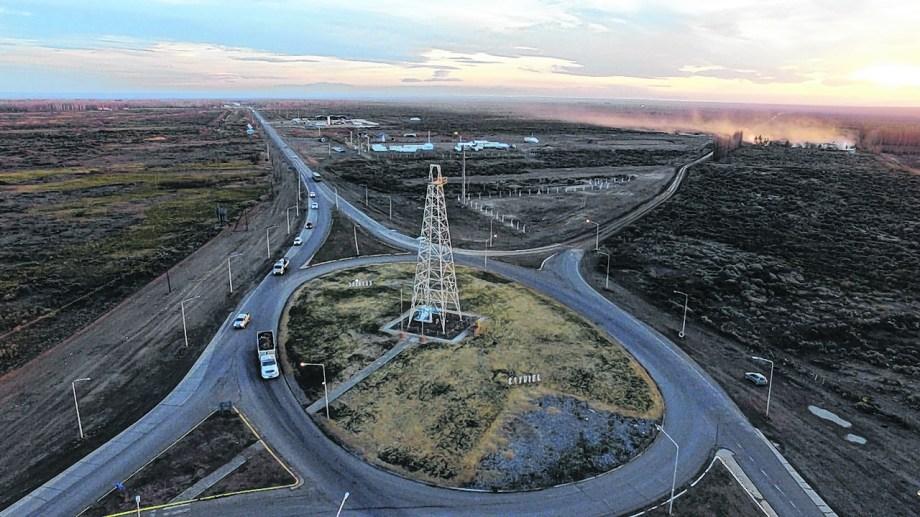 La zona de acceso a Catriel fue escenario de protestas y será uno de los sectores a mejorar dentro del proyecto aprobado.