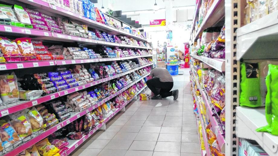 Azúcares, dulces y panificados empujaron las subas, pese a los programas de control como Precios Cuidados. Foto: archivo.