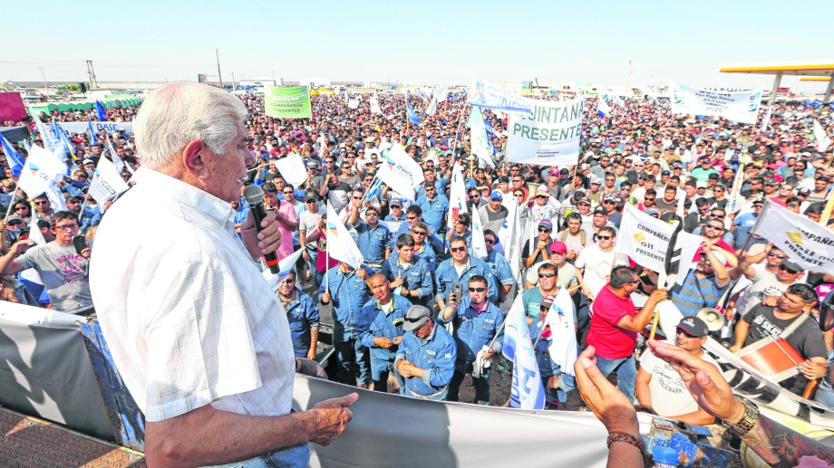 En medio de la disputa con Uocra, Pereyra mañana convocó a una conferencia sobre la modificación del convenio colectivo. (Archivo).-