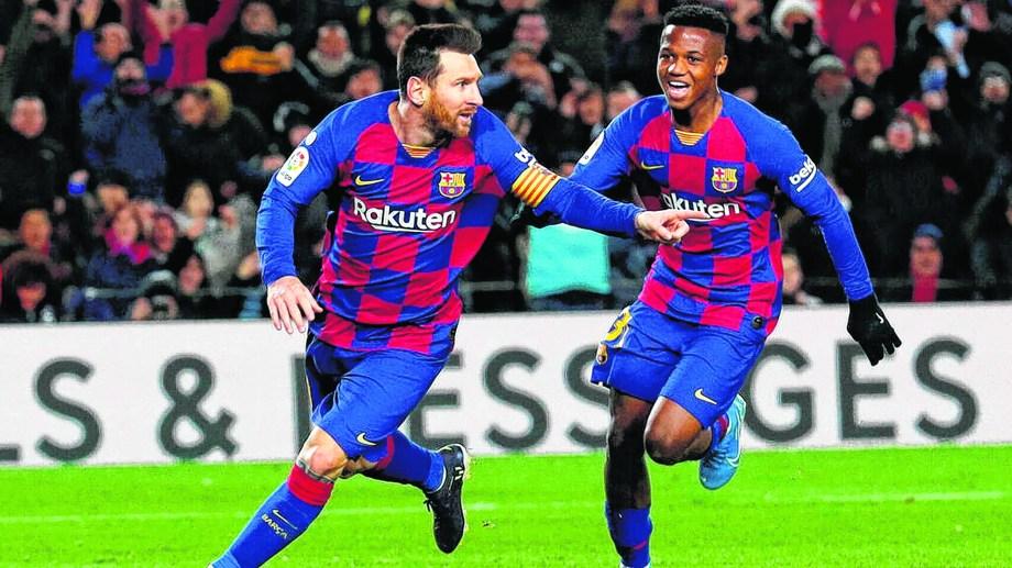 Messi y compañía se miden contra el Eibar.