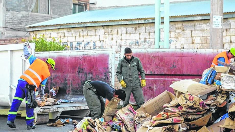 Se completó la quinta jornada de recolección de residuos voluminosos en lo que va del año. Foto: Gentileza