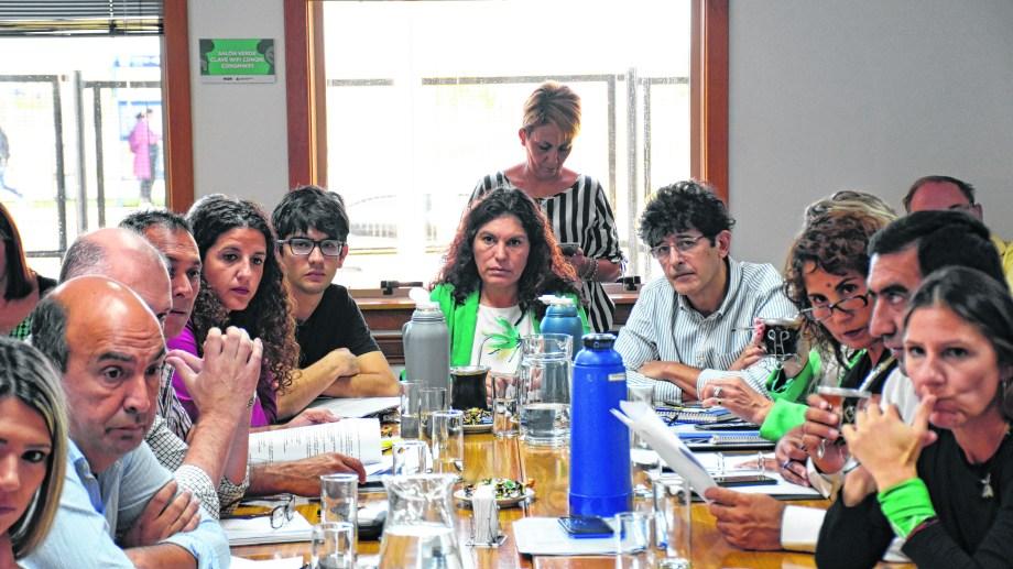 Bermúdez fue uno de los que criticó la creación del ente. Foto: Florencia Salto